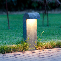 SIMPLY 35cm Brass LED | Lampade outdoor pavimento | PVD Concept