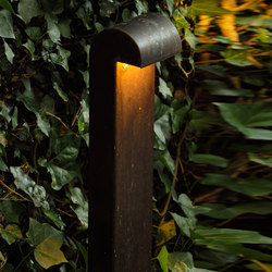SIMPLY 70cm Brass LED | Bollard lights | PVD Concept