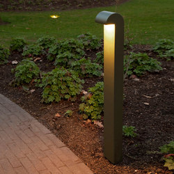 SIMPLY 70cm Anodised Braungrau LED | Bollard lights | PVD Concept
