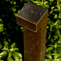 SIMPLY 90° 70cm Brass LED | Bollard lights | PVD Concept