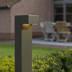 SIMPLY 90° 70cm Anodised Braungrau LED | Bollard lights | PVD Concept