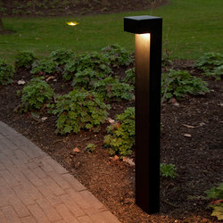 SIMPLY 90° 70cm Anodised Black LED | Bolardos de luz | PVD Concept