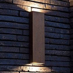 SIMPLY PILLAR up/down Wall large Brass LED | General lighting | PVD Concept