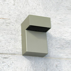 SIMPLY 90° Wall 15cm Anodised Braungrau LED | General lighting | PVD Concept