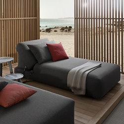 Montecarlo sun lounger | Tumbonas de jardín | Exteta