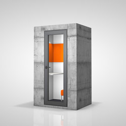 Phone Unit | beton | Space dividers | OFFICEBRICKS