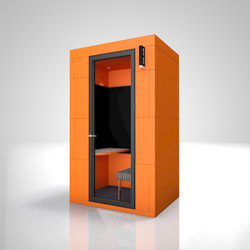 Phone Unit | orange on-air | Space dividers | OFFICEBRICKS