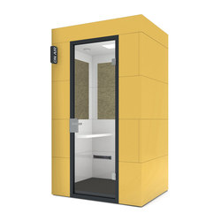 Phone Unit/yellow | Telephone booths | OFFICEBRICKS