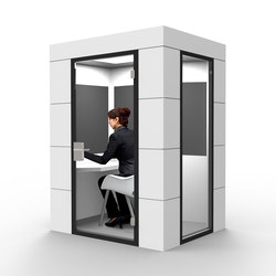 Work Unit white | Office Pods | OFFICEBRICKS