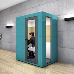 Work Unit | aqua | Raumteilsysteme | OFFICEBRICKS