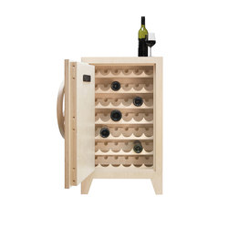 Mr.Knox Safe cabinet Birchwood | Wine cabinets | Tuttobene
