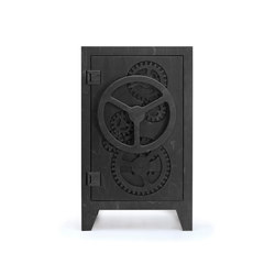 Mr.Knox Safe cabinet Black | Wine cabinets | Tuttobene
