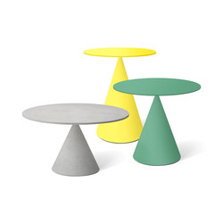 Mini Clay tables basses | Tables d'appoint de jardin | Desalto