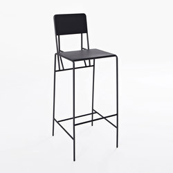Hensen Barstool steel for New Duivendrecht | Taburetes de bar | Tuttobene