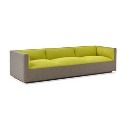 Infinito Lounge Three-Seater Sofa | Modular seating elements | Studio TK