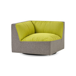 Infinito Lounge Swivel Corner | Modular seating elements | Studio TK