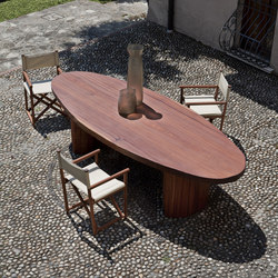 INDIVIDUAL Oval Superior | Dining tables | Exteta