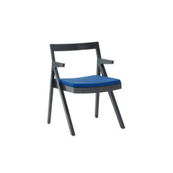 Noka Guest Chair with Arms | Sièges visiteurs / d'appoint | Studio TK