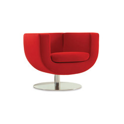 Tulip Large Swivel Lounge Chair | Fauteuils d'attente | Studio TK