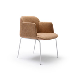 Deep Armchair | Visitors chairs / Side chairs | Quinti Sedute