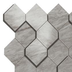 Marvel Stone bardiglio esagono | Carrelage céramique | Atlas Concorde