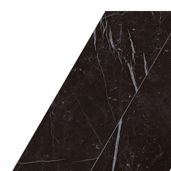 Marvel Stone chevron nero marquinia | Ceramic slabs | Atlas Concorde