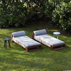 Bellagio chaise longue | Sun loungers | Exteta