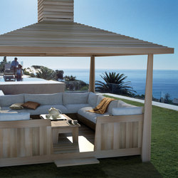 Tea House living | Lounge de jardin | Exteta