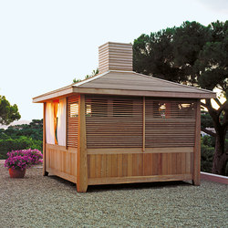 Tea House facilities | Lounge de jardin | Exteta
