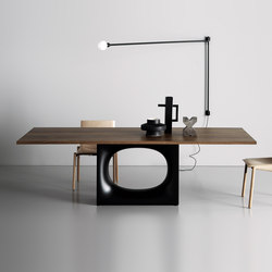 Holo table | Dining tables | Kristalia