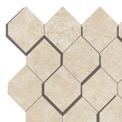 Marvel Stone cream esagono | Ceramic panels | Atlas Concorde