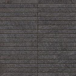 Marvel Stone mosaico bacchetta basaltina | Ceramic panels | Atlas Concorde