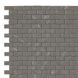 Marvel Stone mosaico burattato cardoso | Ceramic panels | Atlas Concorde