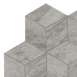 Marvel Stone mosaico esagono bardiglio lappato | Carrelage céramique | Atlas Concorde