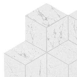 Marvel Stone mosaico esagono carrara lappato | Piastrelle ceramica | Atlas Concorde