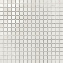 Marvel Stone mosaico lappato bianco dolomite | Keramik Fliesen | Atlas Concorde