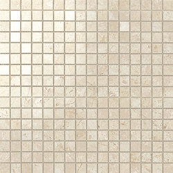 Marvel Stone mosaico lappato cream | Ceramic panels | Atlas Concorde
