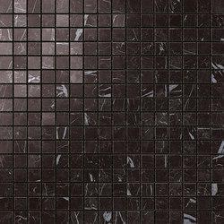 Marvel Stone mosaico lappato nero marquinia | Piastrelle ceramica | Atlas Concorde
