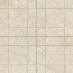 Marvel Stone mosaico matt cream | Ceramic tiles | Atlas Concorde