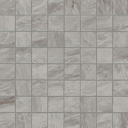 Marvel Stone mosaico matt bardiglio grey | Ceramic slabs | Atlas Concorde