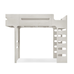 F bunk bed - whitewash | Letti a soppalco | RAFA kids
