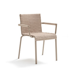 Key West 4211 chair with armrest | Sedie da giardino | Roberti Rattan