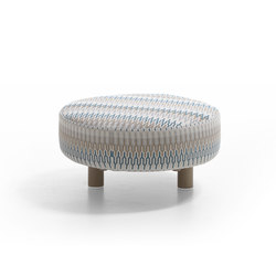 KeyWest 4245 pouf | Poufs / Polsterhocker | ROBERTI outdoor pleasure