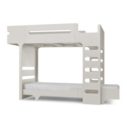 F&A bed - set for 2 kids - whitewash | Camas de niños / Literas | RAFA kids