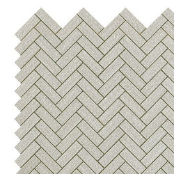 Room pearl herringbone wall | Ceramic panels | Atlas Concorde