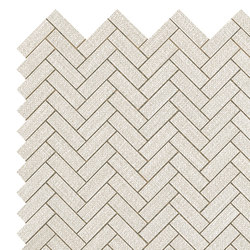 Room white herringbone wall | Ceramic tiles | Atlas Concorde
