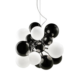 Digit Chandelier | Ceiling | black | Pendelleuchten | Emmanuel Babled