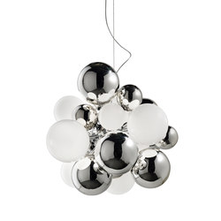 Digit Chandelier |Ceiling | mirrored crystal | Pendelleuchten | Emmanuel Babled