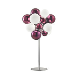 Digit Chandelier | Standing | mirrored purple | Free-standing lights | Babled