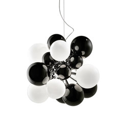 Digit Mini | Chandelier | black | General lighting | Emmanuel Babled
